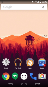 Custom Android Launcher Example